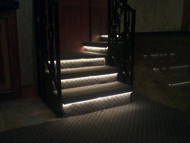 Theater Stair Tread Lighting Lilianduval